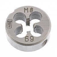 Плашка М6 х 1,0 мм СИБРТЕХ 77017