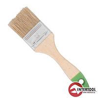Кисть флейцевая INTERTOOL KT-1290 (размер 90х10,5х52мм)
