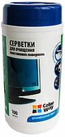Салфетки чистящие CW CW-1072 универсал, для оргтехники, спиртовые