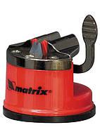 Пристрій для заточування ножів усіх типів, метал. направляюча, кріплення на присоску MTX 791049