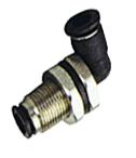 """SF-EPLM  M14 під шланги 6-6 мм (фітінг - з'єднувач """"трубка-трубка+зовнішня різьба"""", кутовий)"""