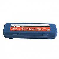 Рівень лазерний, 400 мм, 1050 мм штатив 3 вічка, набір (база, 2 лінзи) в пластиковому боксі MTX 350299