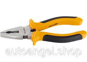 Плоскогубці, Comfort, 160 мм, комбіновані шліфовані, двокомпонентні рукоятки SPARTA 16964