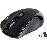 Мышь HQ-Tech HQ-WMW725 Black, USB Nano, Optical 1600DPI, Box