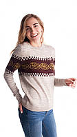 Красивый женский свитер на зиму