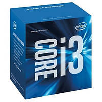 Intel Core i3 (LGA1151) i3-6100, Box, 2x3,7 GHz, HD Graphic 530 (1050 MHz), L3 3Mb, Skylake, 14 nm,