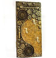 """Настенная ключница """"Спираль времени"""" Оригинальные подарки на ручной работы"""