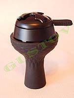 Комплект силиконовая чаша Samsaris Самсарис вихрь и калауд Лотус Lotus (Черный).