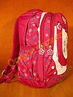 Рюкзак спортивный женский школьный CFS бардовый, фото 1
