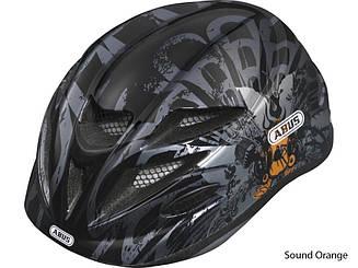 Велошлем детский ABUS HUBBLE Sound Orange (S)