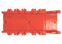 Стусло, 300 х 90 мм, пластмасове, 4 кута для запилу MTX 225479
