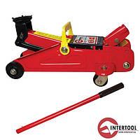 Домкрат гидравлический подкатной INTERTOOL GT0102 (2т, 135-345мм)