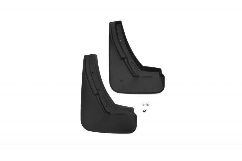 Бризковики передні для Peugeot 2008 2014 - запровадження. комплект 2шт поліуретан NLF.38.27.F13