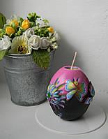Свеча формы яйца, на подарок, пасху, сувенир