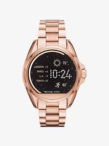 Часы Michael Kors Access Bradshaw Rose Gold-Tone Smartwatch MKT5004