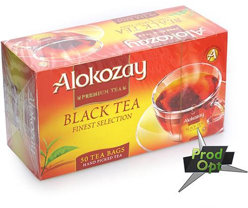Чай Alokozay, чорний, 25 пакетів