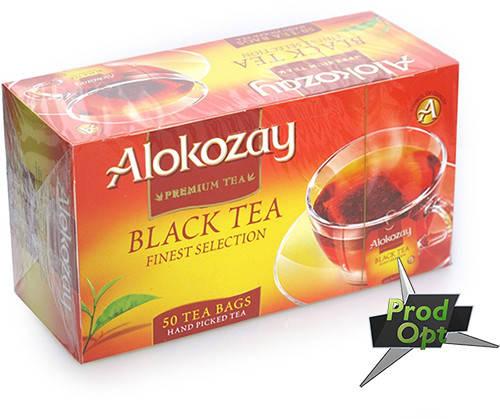 Чай Alokozay, чорний, 25 пакетів, фото 2