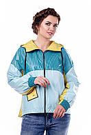 Куртка-ветровка женская демисезонная в 6ти цветах В - 940