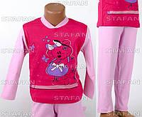Детская пижама для девочки, интерлок Betul D05 2-3-R.