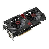 Видеокарта Asus / Radeon R9 380 OC / STRIX GAMING / 2Gb DDR5 / 256-bit / 2xDVI/HDMI/DP / 1010/5500MH