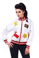 Куртка-ветровка женская демисезонная спортивная в 4х цветах В - 950