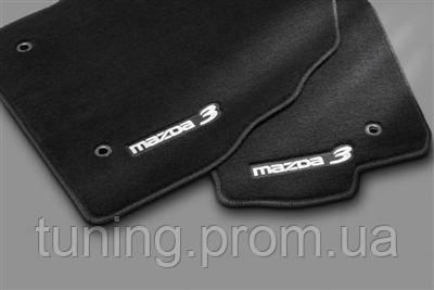Коврики салона текстиль оригинал Mazda 3 2009-on