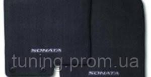 Коврики салона чёрные оригинал Hyundai Sonata YF 2010-2013