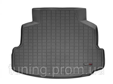 Коврик багажника чёрный Toyota Corolla 2012-on