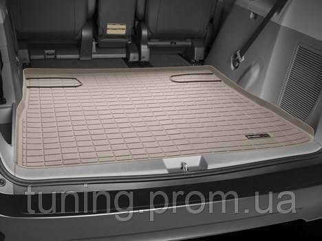 Коврик багажника бежевый Toyota Sienna 2011-on