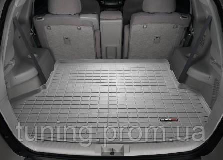 Коврик багажника резиновый Toyota Highlander серый 2010-2011