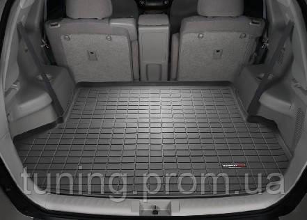 Коврик багажника резиновый черный Toyota Highlander 2007-2009