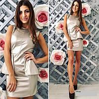 Платье эко кожа 149 Ник