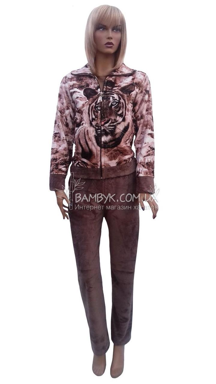 Теплая женская пижама  Elite Bamboo  №181