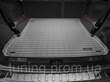 Килимок багажника сірий Mercedes GL 2013-on