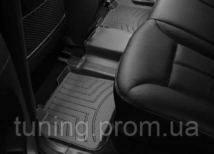 Коврик салона с бортами задний Mercedes ML