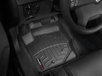 Коврики салона 1 ряд с бортами чёрные Weathertech Volvo XC90 2007-2012