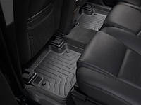 Коврики салона 2 ряд с бортами чёрные Weathertech Volvo XC90 2007-2012