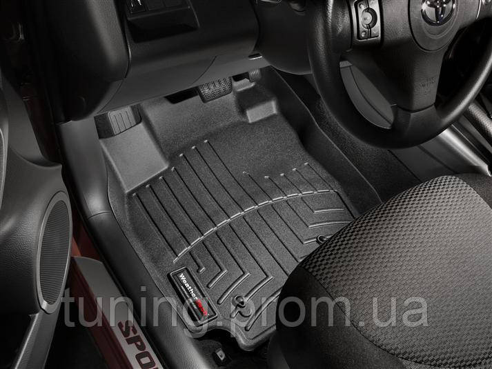 Коврики салона 1 ряд черные с бортами Toyota RAV4 2010-2012