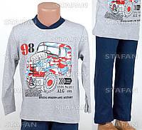 Детская пижама для мальчика, интерлок Betul D10 2-3-R.