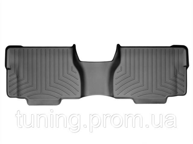 Коврик салона 2 ряд черный с бортами Toyota Sequoia