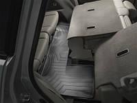 Коврики салона 3 ряд с бортами чёрные Acura MDX 2010-on
