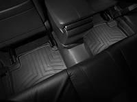 Коврики салона 2 ряд с бортами чёрные Honda Accord 2008-2013