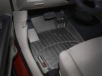 Коврики салона 1 ряд с бортами чёрные Mitsubishi Outlander 2012-on