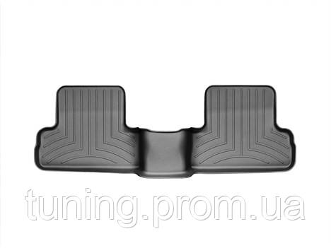 Коврики салона 2 ряд с бортами чёрные Weathertech Nissan X-Trail 2007-2013
