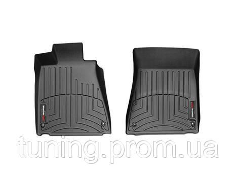 Коврики салона 1 ряд с бортами чёрные Lexus GS 2011-on