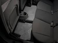 Коврики салона 2 ряд с бортами чёрные Hyundai Accent 2010-on