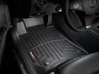 Коврики салона 1 ряд с бортами чёрные Mercedes E class W212 2010-on