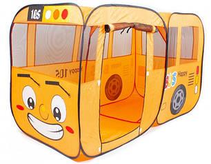 """Детская игровая палатка M 1183 """"Весёлый автобус"""", 156-78-78см, фото 2"""