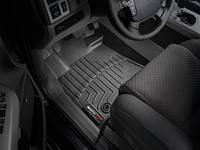 Коврики салона 1 ряд с бортами чёрные Toyota Tundra 2014-on