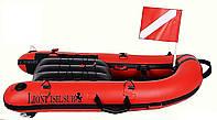 Буй-плот для подводной охоты LionFish Плотик (100 х 65 х 15 см)